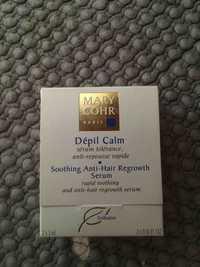 MARY COHR - Dépil calm - Sérum anti-repousse rapide