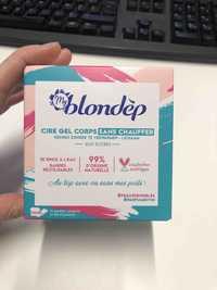 My Blondèp - Cire gel corps sans chauffer