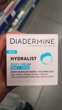 DIADERMINE - Hydralist - Silky cream jour