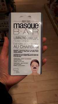 Masque B.A.R - Bandes pour le nez au charbon