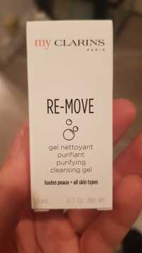 Clarins - My clarins re-move - Gel nettoyant purifiant