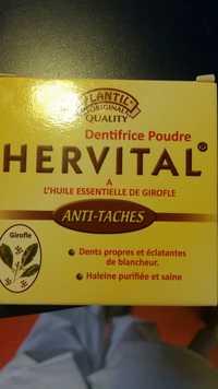Plantil - Hervital - Dentifrice poudre anti-tâches