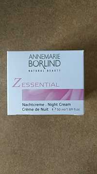 AnneMarie Börlind - Zessential - Crème de nuit