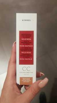 KORRES - Rose sauvage - Éclat & premières rides CC crème