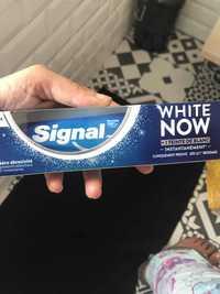 Signal - White now - Dentifrice zéro abrasivité