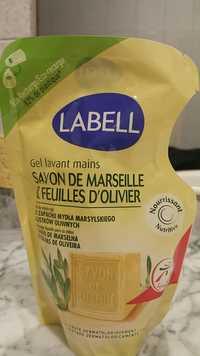 LABELL - Savon de marseille & feuilles d'olivier - Gel lavant mains