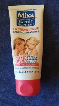 MIXA - Expert peau sensible - La crème visage des peaux réactives