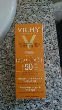VICHY - Idéal soleil SPF 50 UVB+UVA