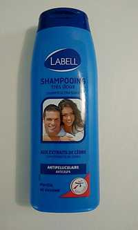 LABELL - Shampooing très doux - Antipelliculaire