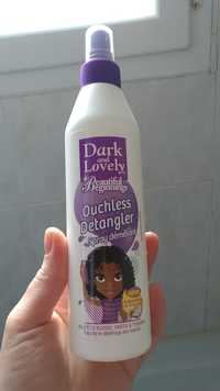Dark and Lovely - Beautiful beginnings - Ouchless detangler spray démêlant