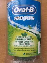 ORAL-B - Complete - Pour une haleine durablement fraîche