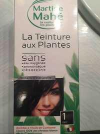 MARTINE MAHÉ - La teinture aux Plantes 1 noir