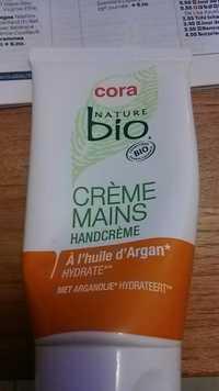 CORA - Nature bio - Crème mains à l'huile d'argan