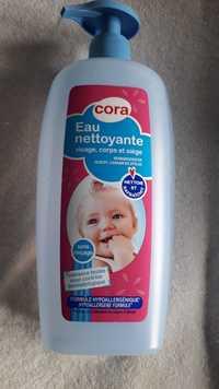 CORA - Eau nettoyante visage, corps et siège de bébé