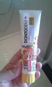 DONTODENT - Kids bis 6 jahre - Mildes fluorid zahngel fur milchzahne