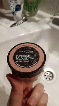 Maybelline - Pure blush mineral 40 pêche quartz