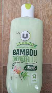 By U - Lait de douche aux extraits naturels bambou chèvrefeuille