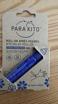 PARA KITO - Roll-on après-piqûres - Gel aux extraits de plantes