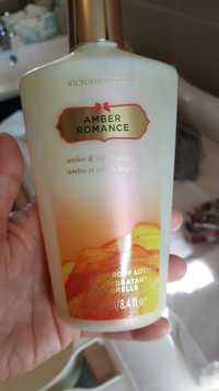 VICTORIA'S SECRET - Ambre et crème anglaise - Lotion hydratants corporelle