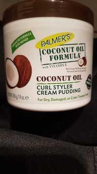 PALMER'S - Coconut oil - Curl styler cream pudding