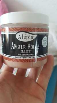 Alepia - Argile rouge - Masque visage