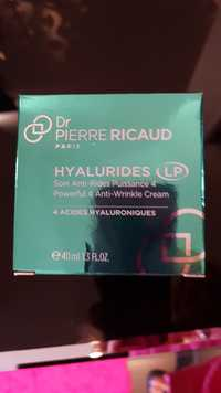 Dr Pierre Ricaud - Hyalurides - Soin anti-rides puissance 4