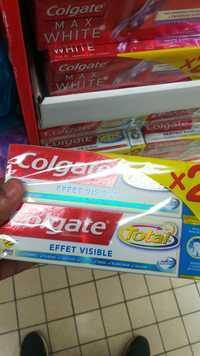 COLGATE - Total - Dentifrice effet visible