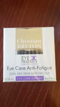 Christian Breton - Soin des yeux anti-fatigue