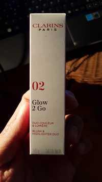 Clarins - Glow 2 Go - Duo couleur & Lumière 02