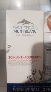 SAINT-GERVAIS MONT BLANC - Eau thermale - Soin anti-rougeurs