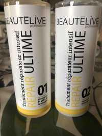 Beauté Live - Traitement réparateur intensif - Repair 01 et 02