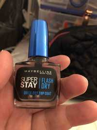 Maybelline - Super stay flash dry - Quick-dry top coat