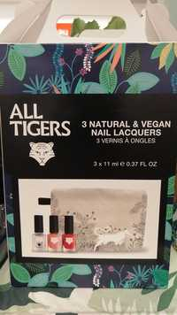All Tigers - 3 vernis à ongles