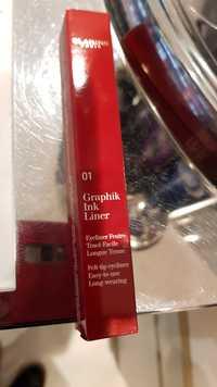 Clarins - Graphik ink liner 01 black - Eyeliner feutre