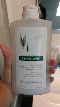 KLORANE - Extra-doux - Shampooing au lait d'avoine
