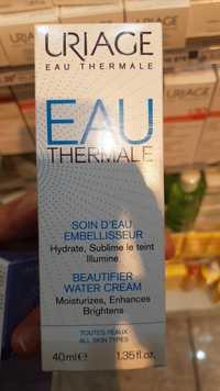 Uriage - Eau thermal - Soin d'eau embellisseur