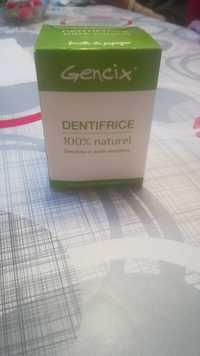 Gencix - Dentifrice 100% naturel