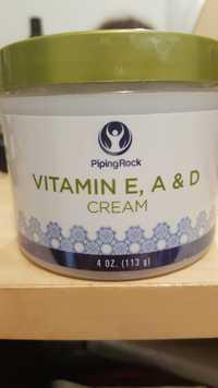 Piping Rock - Vitamin E, A & D - Cream