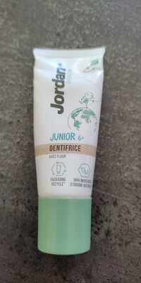 JORDAN - Junior Dentifrice avec fluor
