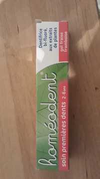 Boiron - Homéodent - Dentifrice soin premières dent 2-6ans