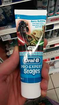 ORAL-B - Pro expert stages dentifrice star wars