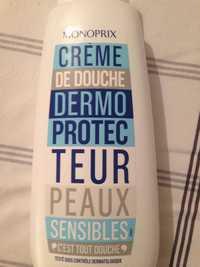 Monoprix - Crème de douche dermo protecteur