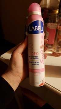 LABELL -  Peaux sensibles - Deo anti-transpirant 24H
