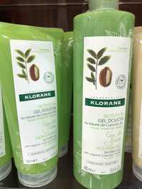 KLORANE - Eau de yuzu - Nutrition gel douche