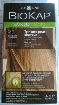 BIOKAP - Teinture pour cheveux - 9.3 blond très clair doré