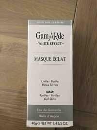 GAMARDE - White effect - Masque éclat eau de gamarde