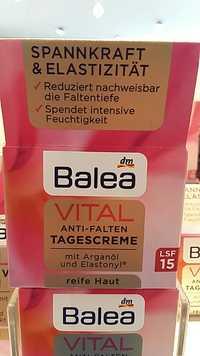 Dm - Balea - Vital anti-falten tagescreme LSF 15
