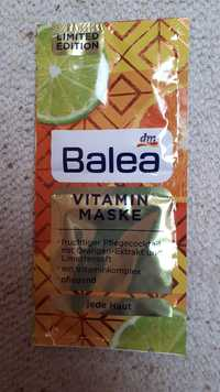 Balea - Vitamin maske