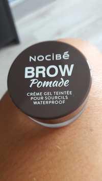 NOCIBÉ - Brow pomade - Crème gel teintée pour sourcils