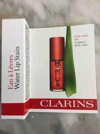 Clarins - Eau à lèvres - Aloe vera bio